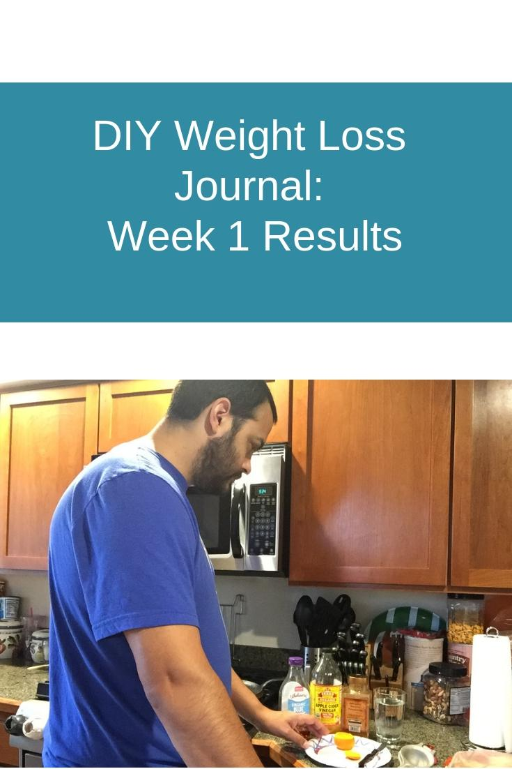 Diy Weight Loss Journal Week 1 Diet Summary Sound